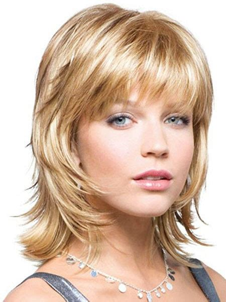 23 short layered haircuts with bangs