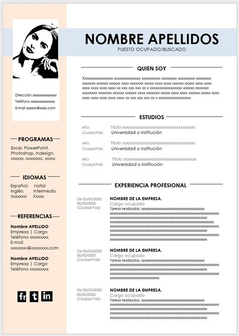 Documentos similares a curriculum vitae 2020.pdf. Las 20 mejores plantillas de curriculum vitae en Word para 2021