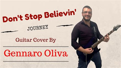 Don't Stop Believin' (guitar Cover Gennaro Oliva
