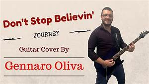 Journey - Don't Stop Believin' (guitar cover Gennaro Oliva ...