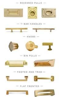 modern refinish gold door handles