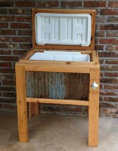 wood ice chest plans woodworking projects plans