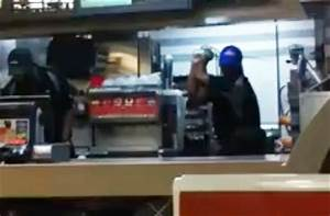 Top World News: Mcdonald's employee beats customers