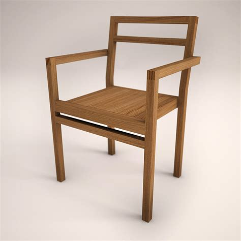 Stuhl Design Holz by 3d Wooden Design Chair