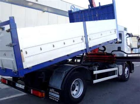 foto de camion usado ocasion segunda mano volquete basculante grúa