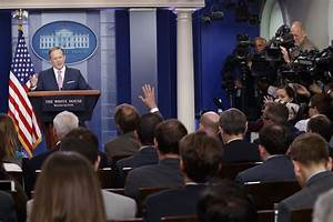 Trump threatens to end press briefings because it is 'not ...