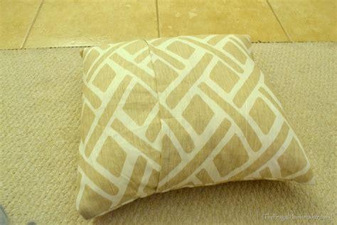 envelope pillow cover diy easy envelope pillow cover tutorial day 17 of 31 days