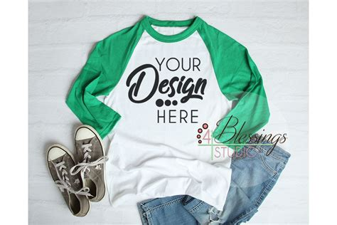 Check out our gray raglan mockup selection for the very best in unique or custom, handmade pieces from our photographs shops. Raglan Shirt Mockup - Baseball TShirt White and Green ...