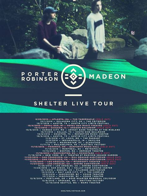 porter robinson madeon bring shelter live tour to
