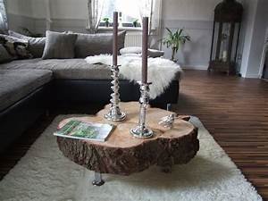 Ebay Möbel Gebraucht : design couchtisch beistelltisch tisch naturholz baumscheibe mit rinde unikat in m bel wohnen ~ Eleganceandgraceweddings.com Haus und Dekorationen