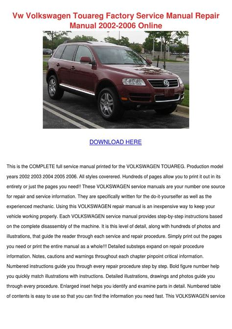 download car manuals pdf free 2008 volkswagen touareg 2 transmission control vw volkswagen touareg factory service manual by yung shellenbarger issuu