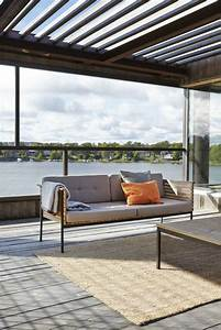 amenagement exterieur jardin et terrasse mobilier en teck With tapis exterieur avec canape teck