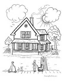 houses coloring pages 014