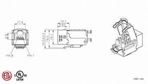 c6a ftp 90 degree punch down keystone jack kj32 xx fs With down keystone jack diagram additionally cat 6 connector wiring diagram