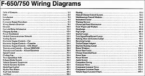 2015 Ford F650 Wiring Diagram