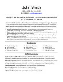 top logistics resume templates sles