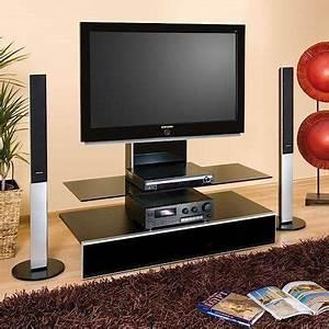 Meuble Tv Ecran Plat : cap sur le meuble tv qui reste tendance c t maison ~ Teatrodelosmanantiales.com Idées de Décoration