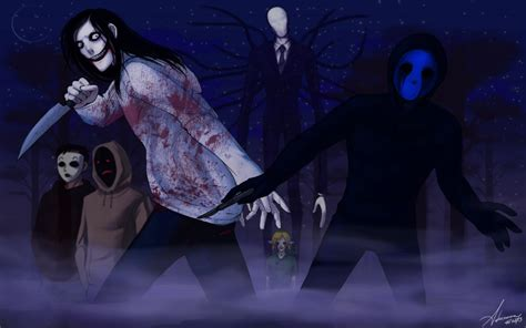 Creepypasta Anime Wallpaper - creepypasta wallpaper 2 by suchanartist13 on deviantart
