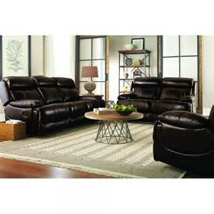 braxton leather living room reclining sofa loveseat