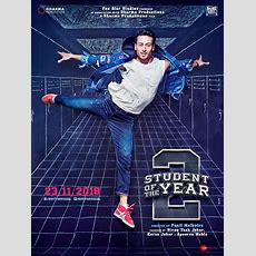 Student Of The Year 2 New Poster Out! Tiger Shroff Looks Pumped Up To Lead The Brat Pack