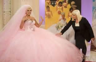 my big wedding dresses kerry katona wears wedding dress 39 i feel like a doll 39 showbiz news digital