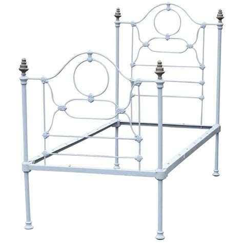 single cast iron bed at 1stdibs