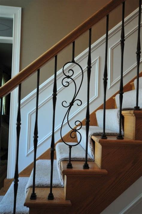 iron balusters to fix our stairs for the home paint colors iron staircase and