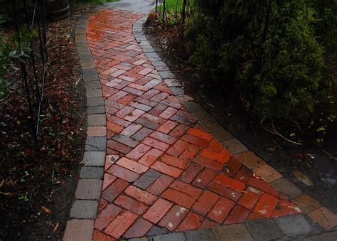 brick pathways garden stories garden projects at edgefield
