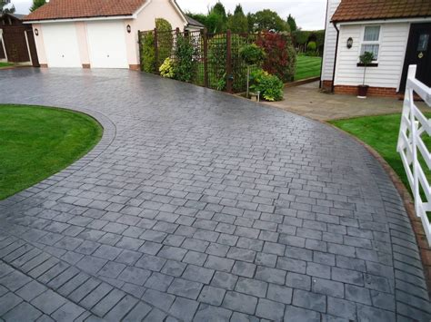 pavement prices concrete driveways pattern imprinted concrete hermitage driveways driveway
