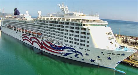 Pride Of America - Itinerary Schedule Current Position | CruiseMapper