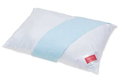 pillow that stays cold hefel cool zip pillow