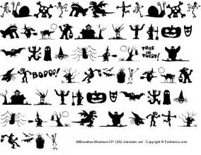 Scary Halloween Letters Font