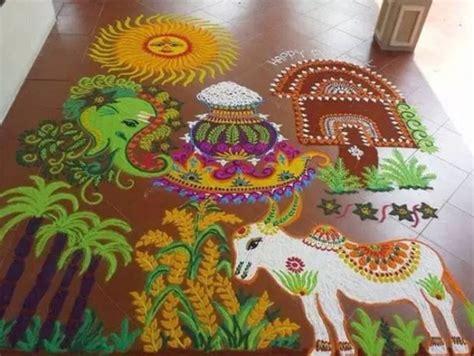 pongal  festival top pongal kolam rangoli designs