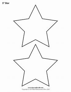 star template 5 inch tim39s printables With small star template printable free
