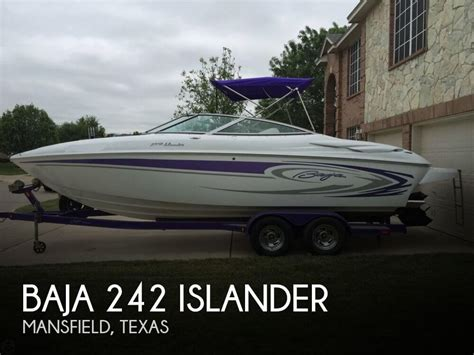 Performance Boats For Sale Texas by Baja 242 Islander For Sale In Mansfield Tx For 34 000