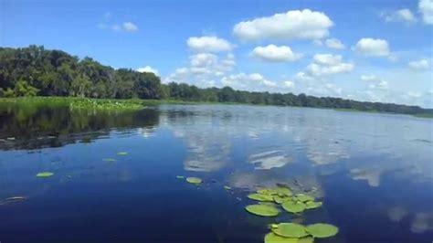 Boat R In Astor Florida by Kayaking On Lake George Florida