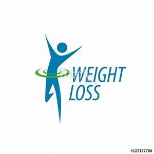"""weight loss logo"" Stock image and royalty-free vector ..."