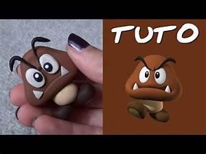 Tuto Pate Fimo : tuto fimo goomba de mario polymer clay tutorial deco ~ Dode.kayakingforconservation.com Idées de Décoration