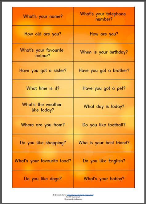 Grundschultante Warmup Basar Englisch