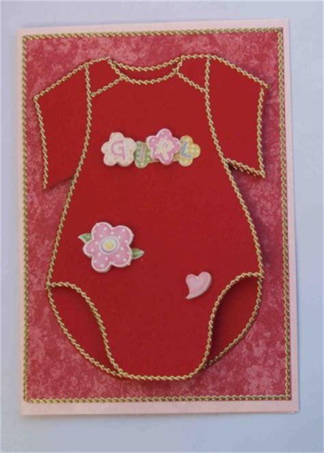karte mit babykleidchen zur geburt bastelfrau