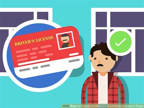Name and address changes must be updated on both your driver license/id card and title/registration within 30 days after changing your name or address. 4 Ways to Change an Address of a Drivers License in Texas