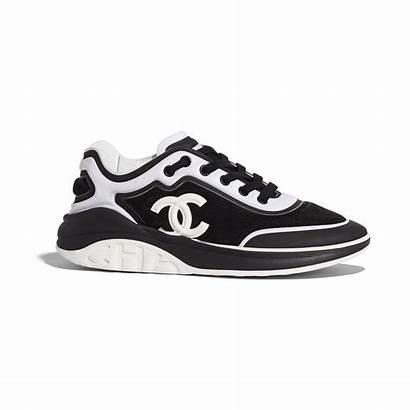 Chanel Sneakers Mesh Lycra Suede Fabric Sneaker