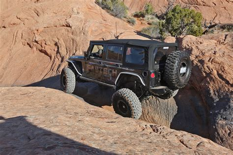 moab jeep safari bangshift com the gang from fabtech share their moab