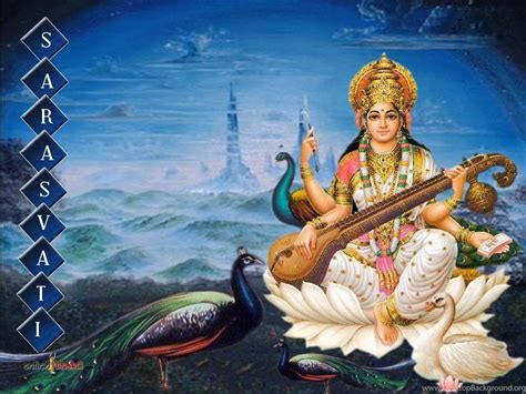 Animated Goddess Saraswati Wallpaper - 7 maa saraswati goddess wallpapers photo for your