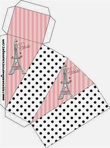 15 Años París: Cajas para Imprimir Gratis Ideas y material gratis para fiestas y