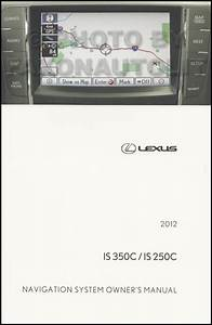 2012 Lexus Is 350c And Is 250c Convertible Owners Manual