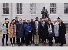 Hong Kong University residence life delegation Office of