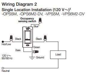 Lutron Occupancy Sensor Switch Wiring Diagram by Electrical Is It Possible To Install An Occupancy Sensor