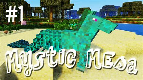 weird beginning mystic mesa modded minecraft ep youtube
