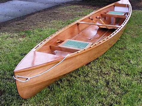 Lightweight Wooden Boat Plans by Canoe Plans Fyne Boat Kits
